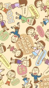halloween chibi background chibi maruko cartoon pattern background iphone 6 wallpaper