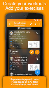 fitness tracker app for android workout tracker trainer fitness log book android apps on
