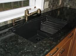 Kitchen Sink Leaking Underneath by Granite Countertop Leak Under Kitchen Sink Cabinet Mosaic