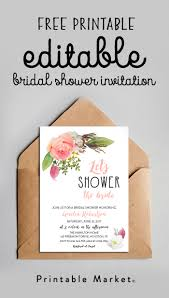 mimosa bar free watercolor flowers printable bridal showers bar