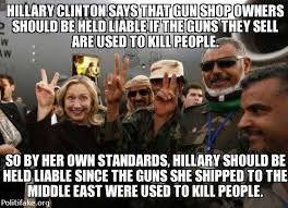 Second Amendment Meme - hard truth about hillary clinton and gun control meme