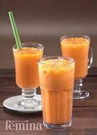 cara membuat thai tea latte resep orange mint squash drink dessert pinterest