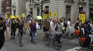 baltimore march shows protesters more on their minds than