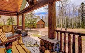 Covered Porch Pictures Golden Eagle Log And Timber Homes Log Home Cabin Pictures