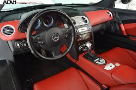 mercedes mclaren red mercedes benz slr mclaren adv5 track spec cs