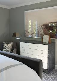 Gray Bedroom Dressers White And Gray Dresser Transitional Bedroom