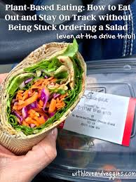 plant based eating how to eat out and stay on track without being