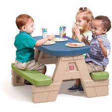 Little Tikes Fold And Store Picnic Table Manual by Step2 Sit And Play Junior Picnic Table With Removable Umbrella