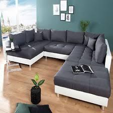sofa federkern produktart sofa wohnlandschaft form u förmig ebay