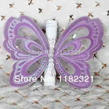online shop purple butterfly wedding birthday greeting card with
