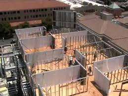 light gauge steel deck framing install a light gauge steel wall panel in minutes youtube