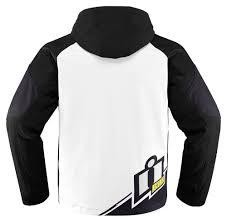riding jackets 175 00 icon mens team merc armored hooded softshell 204600
