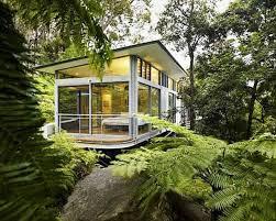 best stunning modern glass house design 14735