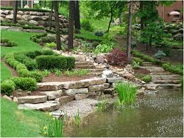 Backyard Slope Ideas Backyards Excellent 25 Best Ideas About Backyard Hill