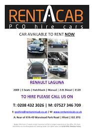 fleet pictures pco hire cars rent a cabtel 0208 432 3026 mob