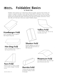 Science Foldable Templates scope of work template