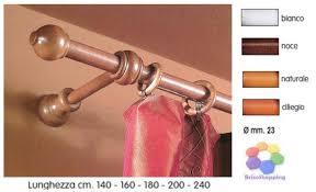 bastoni per tende in legno prezzi bastoni per tende di legno bastone tenda a strappo mm 23 vari