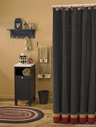 Country Themed Shower Curtains Country Shower Curtains Primitive Country Burlap Shower