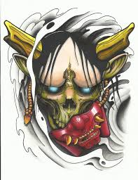 hannya mask samurai tattoo 8a565841ad264ed7ee94aabf93680e22 jpg 736 959 tattoo pinterest