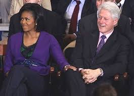 Obama Bill Clinton Meme - bill clinton michelle obama knee touching blank template imgflip