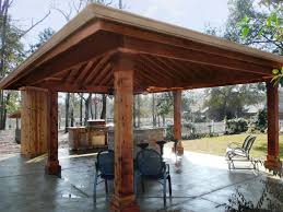 spectacular outdoor kitchens new orleans la with pine wood planks