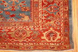 Red And Blue Persian Rug by Beautiful Antique Blue Background Persian Sultanabad Rug 49209