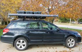 Subaru Forester Bike Rack by Steve U0026 Deb Prep A 2008 Subaru Outback For Cross Country Traveling