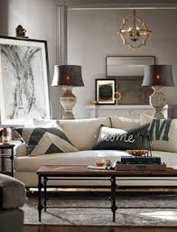 Pottery Barn Leather Couch Manhattan Leather Sofa From Pottery Barn Like This Color Combo