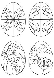 pysanky designs pysanky eggs coloring page free printable coloring pages