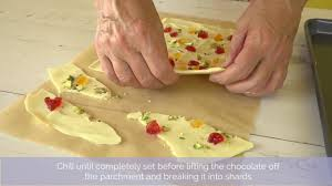 white chocolate cake recipe shard bake presents how to chocolate shards