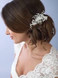 hair accessories wedding mila floral hair clip shop bridal accessories usabride