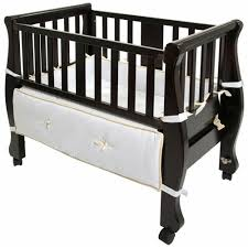 Co Sleeper Convertible Crib by Arms Reach Sleigh Bed Co Sleeper Bassinet Espresso Hayneedle
