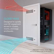 best way to cool a room with fans airframe t7 n black av equipment closet and room fan system 17
