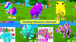 dinosaur coloring 3d ar android apps on google play