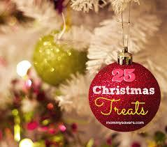 christmas treats 25 days of holiday recipes mommysavers