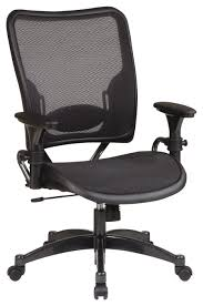chair mesh back office chairwith mesh seat a sleek task chair with
