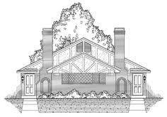 duplex plan chp 51647 at coolhouseplans com duplex plans