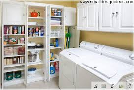 Laundry Room Storage Cabinets Ideas - laundry room interior main decoration features