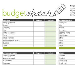 Monthly Spreadsheets Household Budgets by Alex6255 S Soup