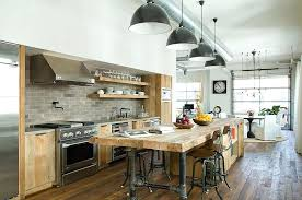 Industrial Style Kitchen Island Lighting Design A Kitchen Island Industrial Style Kitchen Island