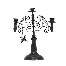 buy the tapered candelabra candle holder with spiders by ashland