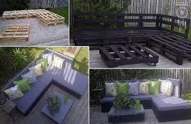 how to make pallet patio furniture diy crafts handimania