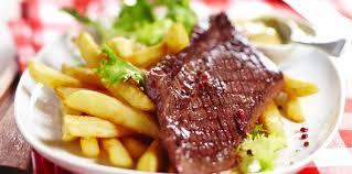 jeux de cuisine frite steak frites facile et pas cher recette sur cuisine actuelle