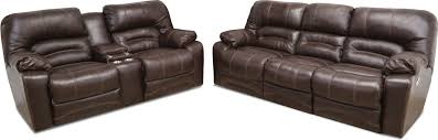 Power Reclining Sofas And Loveseats by Chocolate Brown Leather Match 3 Piece Power Reclining Sectional