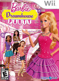 amazon com barbie dreamhouse party nintendo wii video games