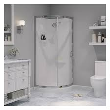 Stall Shower Door by Bathroom Fascinating Shower Kits Lowes To Express Your Style