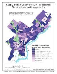 Philadelphia Neighborhood Map Improving The Evidence Base For Access To Quality Pre K Penniur