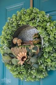 make a fall fairy garden wreath the diy mommy