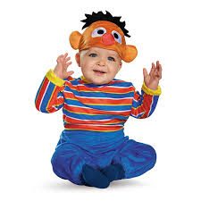 infant costume disguise baby boys ernie deluxe infant costume clothing