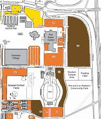 American University Campus Map Parking For Pan Am Center U0026 Aggie Memorial Stadium Pan American